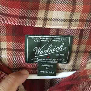 Woolrich Tops - Woolrich Flannel Design Button Long Sleeve Shirt M